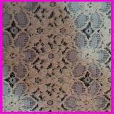 Raschelの衣服の織物ポリエステルナイロン綿のレースファブリック
