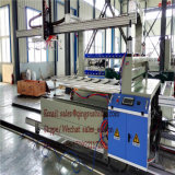 A máquina da placa de assoalho do PVC, pavimenta a máquina da camada baixa