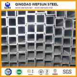 Tubo de acero de la casilla negra Q235 de China