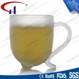 Copa de agua 270ml del vidrio esmerilado con las piernas (CHM8096)