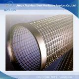 Filtres perforés de feuille d'écran en métal d'acier inoxydable