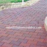 EN1177 Certificados de jardín de caucho Pavimentos Azulejos en China