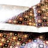 Telas del satén para la alineación de los bolsos