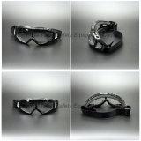 Occhiali di protezione di sicurezza diretti degli sfiati dell'obiettivo chiaro del PC con il rilievo di gomma piuma molle (SG144)