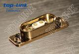 USBケーブルが付いている2pin男性そして女性磁気Pogoのピンコネクタ