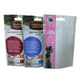 Sacchetto di plastica dell'alimento per animali domestici dell'euro foro