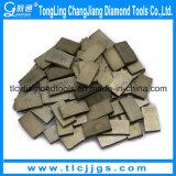 Segmentos concretos da broca de núcleo do diamante