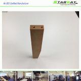 Peças personalizadas cobre do CNC Machinng do aço