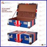 Mala de viagem de couro luxuosa do curso da mala de viagem do armazenamento da mala de viagem do vinho do plutônio