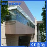 Panneau composé en aluminium pour la décoration de revêtement de mur intérieur et extérieur