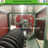Linha máquina 800mm da extrusão da tubulação de dreno da espiral do perfil do HDPE da produção