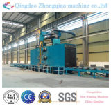 Q69 Series Roller Through Type Shot Blasting Machine per Steel Plate
