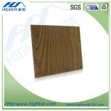 Tablero de madera inorgánico del cemento de la fibra del grano de los paneles de apartadero de la pared exterior