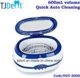 pulitore ultrasonico dentale di pulizia automatica rapida 600ml (VGT-2000)