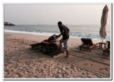 Sale를 위한 5.5HP Walk Behind Beach Cleaner