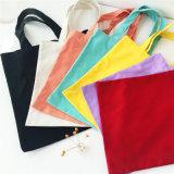 재상할 수 있는 부대 Hight 단순한 설계 건강한 운반물 핸드백 형식을 포장하는 2017년 Eco 재사용할 수 있는 쇼핑 백 피복 직물 식료품류
