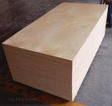 madera contrachapada comercial laminada B2 revestida ULTRAVIOLETA del abedul blanco de los muebles del grado del CD del carburador de 18m m Fsc