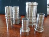 Entrerrosca larga inoxidable del manguito de la instalación de tuberías de acero 304L del tubo