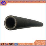 Boyau en caoutchouc hydraulique à haute pression renforcé de fil d'acier