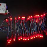 Rideau en tissu DEL de visibilité de Noël RVB pour l'éclairage DJ, barre, disco d'étape d'exposition d'événements
