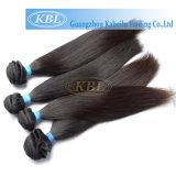 Уток волос Remy 100 девственниц бразильский, Weave человеческих волос (KBL-ST)