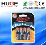 De vrije Alkalische Batterij van de droge Batterij van het Kwik LR6 aa (-3)