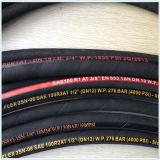 Tubo flessibile della treccia del collegare SAE 100 R1/1sn/R2/2sn uno/tubo flessibile olio idraulico