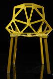 معدن ساق طلية سوداء كرسي تثبيت خارجيّة بلاستيكيّة ([لّ-0042])
