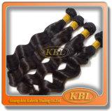Перуанский Weave волос девственницы (KBL-пэ-аш)
