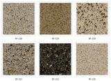 Pedra super de quartzo da qualidade para o assoalho, parede, partes superiores contrárias, partes superiores de tabela