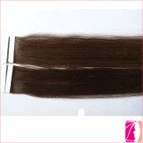 100% pelo de Remy, la mejor extensión del pelo de la cinta del precio