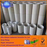 Alto tubo rivestito delle mattonelle di ceramica dell'ossido di alluminio Al2O3 di resistenza all'usura fatto in Cina