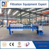 Tratamiento de aguas residuales de la prensa de filtro del compartimiento de la minería