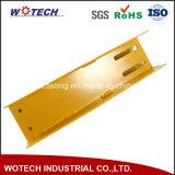 Металлический лист автозапчастей точности стальной изготовленный на заказ/штемпелюя часть