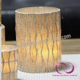 ホーム装飾のための簡単なヨーロッパの影のモザイク・ガラスの蝋燭ホールダーの蝋燭のコップ