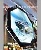 Indoor Crystal Acrylic Publicidade Magnetic LED Ads Light Box
