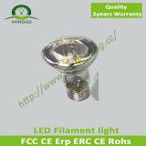 CE/RoHS Approval Filament LED 220V~240V Dimmable R39 2W LED Filament Bulb Light