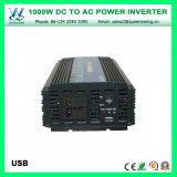 デジタル表示装置(QW-M1000)が付いている1000Wによって修正される正弦波力インバーター