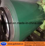 Hoja de acero galvanizada prepintada del hierro en bobina