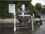 Grande vaso de cozinha em ferradura com aquecimento elétrico Inclinando chaleira revestida para molho de tomate
