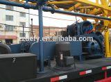 O grande reboque do tamanho montou máquina Drilling para a água usada
