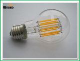 10W A60の地球LEDのフィラメントの球根E27 B22