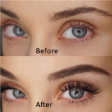 Spécial Eyelashes Extension Vente en gros Fasle Lash Silk Mink Lashes Customized Label