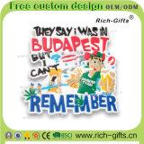 Les produits de souvenir ont personnalisé les aimants promotionnels de réfrigérateur de PVC des cadeaux 3D (RC-OT)