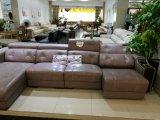 Софа Recliner, софа воздуха кожаный, домашняя мебель l софа формы (666)