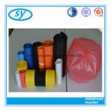Sac d'ordures en plastique multicolore de commande à façon