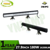 180W 27.9inch LEIDENE Lichte Staaf met 60PCS 3W CREE LEDs