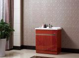 Mehrschichtiges festes Holz-Badezimmer-waschender Schrank-keramischer Badezimmer-Schrank