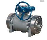 Metal de aço forjado para metal eixo elétrico a válvula de esfera montada