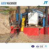 Dredger de sucção de drenagem hidráulica de 10 polegadas com draga de sucção de areia